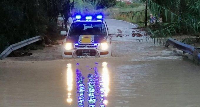 Protección civil alerta por fuertes lluvias y vientos en el Mediterráneo