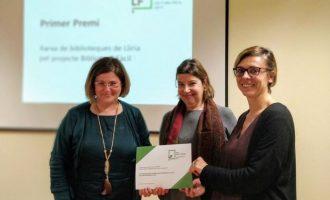 Llíria recibe el primer premio en la IX Bones Pràctiques de Lectura Fàcil