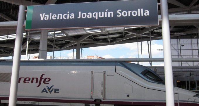 L'estació de Joaquín Sorolla de València es prepara per a l'impuls del Corredor Mediterrani
