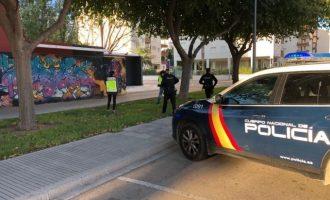 Detingut després d'una persecució per València un home que havia robat un cotxe d'un depòsit municipal