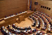 Les Corts Valencianes suspenen el ple per l'absència dels diputats de Vox
