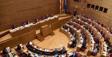 Aprovat el pla valencià per a la reconstrucció amb l'única oposició de Vox