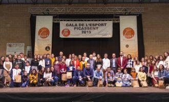 Reconeixements i premis en la Gala de l'Esport 2019 de Picassent