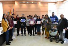 Alfafar entrega els diplomes dels cursos organitzats enguany