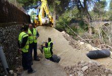 Ontinyent repara el Camí del Pont del Rei greument afectat per la DANA