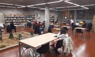 Taps per a les oïdes 'públiques' per a afavorir la concentració a les biblioteques de Paterna