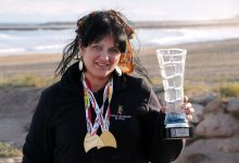 Sandra Gómez-Pimpollo, campiona d'Espanya de pesca