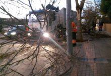 Los servicios municipales multiplican sus intervenciones por el temporal