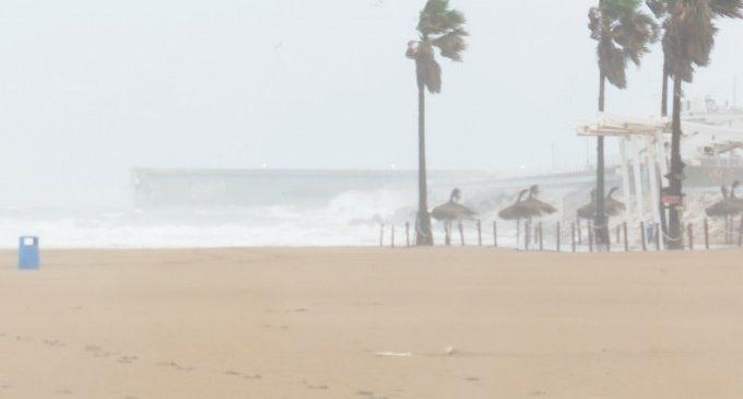 El nou temporal deixa ja més de 130 litres per metre quadrat en la Comunitat Valenciana