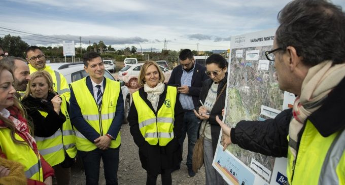La Diputació inicia les obres de la Variant de Bétera per a desviar els 12.000 vehicles que col·lapsen cada dia el municipi