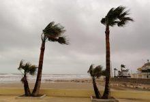 Les ratxes de vent freguen els 100km/h en alguns punts de la Comunitat Valenciana