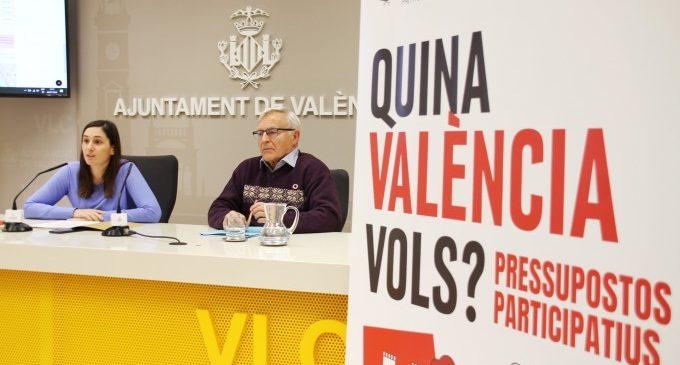 Més de 20.000 persones s'han involucrat per a triar els 21 projectes de Decidim València 2020
