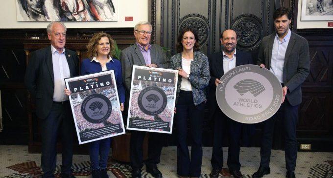 Joan Ribó: «la etiqueta platino es una magnífica noticia para la ciudad y para el deporte»