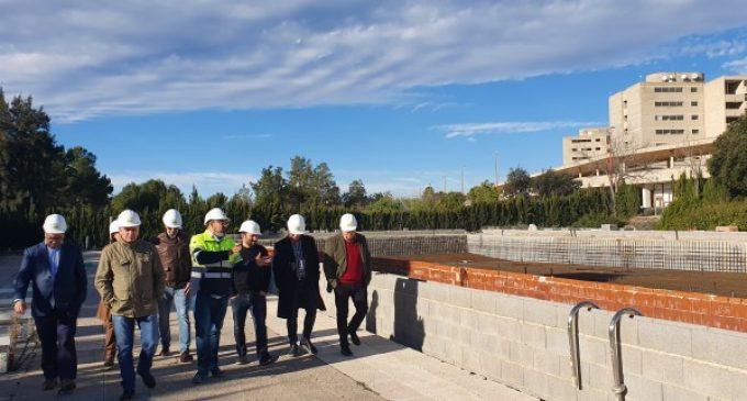 """Marzà: """"La piscina olímpica de Cheste és un espai per a poder acompanyar millor els nostres esportistes"""""""