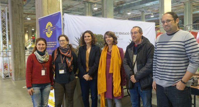 Paula Tuzón valora l'educació ambiental d'Expojove