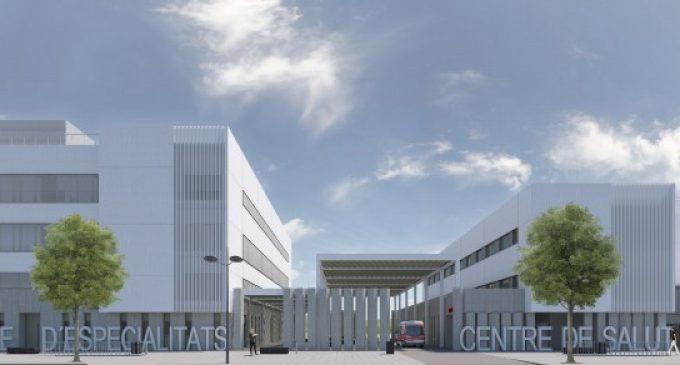 Sanitat inicia les obres del centre de salut i el centre d'especialitats del Espai Sanitari Ernest Lluch de Campanar
