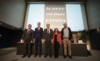 Ximo Puig reivindica como 'una obligación moral de cualquier sociedad democrática' la recuperación de 'una memoria transformadora' del presente