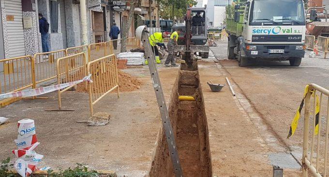 Manises inicia les obres del segon tram del carril bici a Molí de la Llum