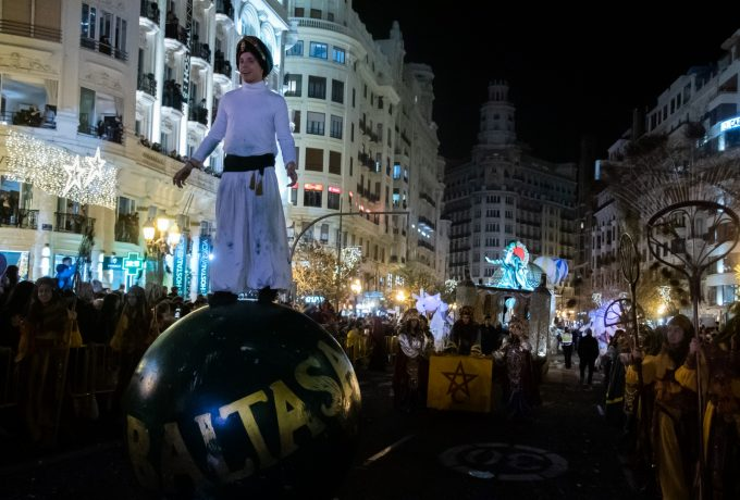 20200105 Cabalgata Reyes Magos Oriente Valencia 2020 Carles Desfilis-53