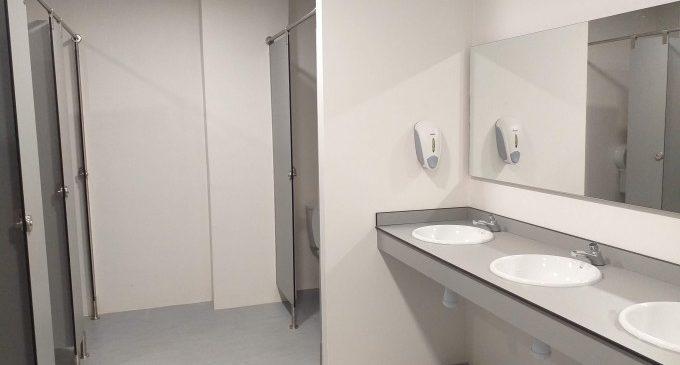 El Tívoli ja disposa dels seus nous banys reformats i en ús per als seus usuaris