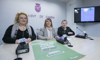 Gandia celebra el Dia Mundial contra el Càncer amb una programació especial