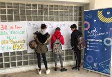 L'alumnat de Paterna commemora el Dia de la Pau a la Casa de la Joventut