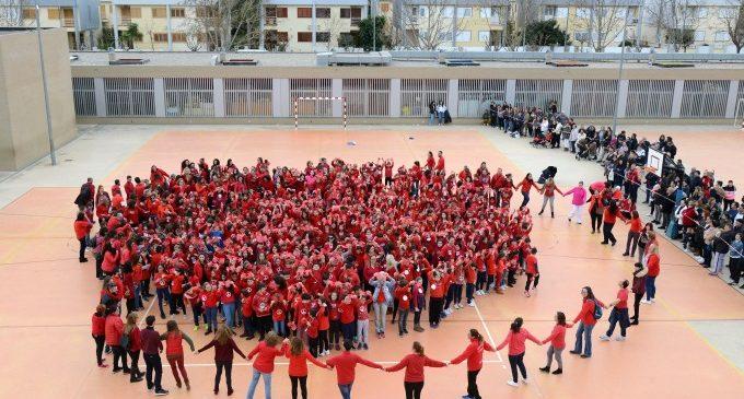 Las escuelas y colegios de Paiporta celebran el Día de la Paz