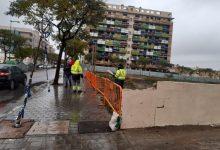 Paterna revisa les infraestructures i els árbres després de la borrasca