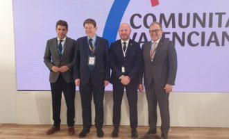 Ximo Puig asiste en Fitur al acto de 'L'Exquisit Mediterrani'
