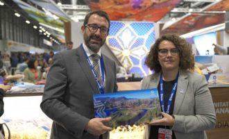 FITUR 2020: Gandia presenta la seua oferta ecoturística singular a turoperadors i empreses del nord i centre d'Europa