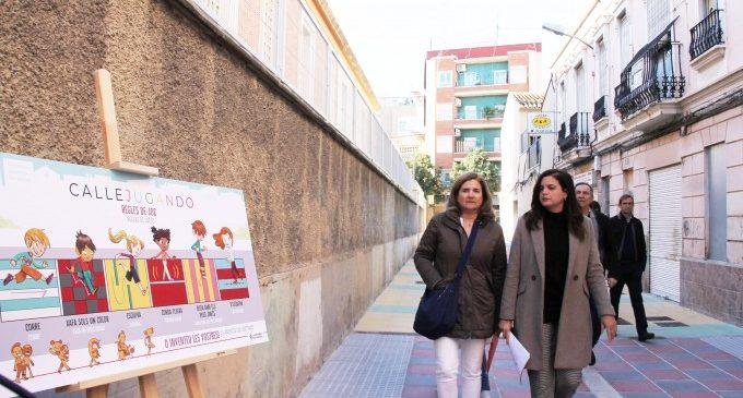 Un recorregut per als vianants que uneix l'església de Benicalap amb el nou Mestalla