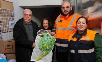 Protecció Civil d'Almussafes recull aliments i joguets per a les persones necessitades