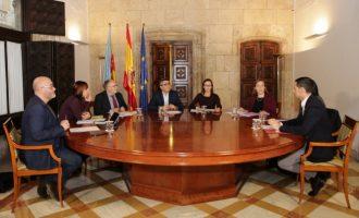 Generalitat y Diputación de Valencia continúan con la coordinación iniciada en la pasada legislatura para aumentar la eficiencia de los recursos públicos