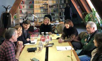 Gandia avanza en el proyecto del I Encuentro de los Traductores de los Clásicos
