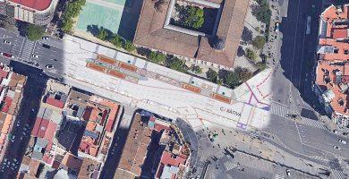 Inician las obras del intercambiador de la EMT en Xàtiva: conócelo al detalle