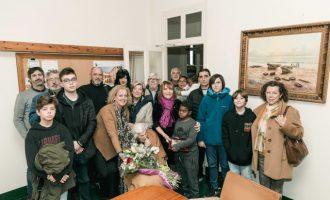 Maria Soria Masquefa compleix 105 anys d'edat