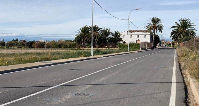 Finalizada la primera fase del acondicionamiento de la carretera de Rochs de La Punta