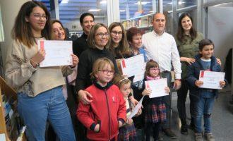 La biblioteca de Massamagrell premia a las personas más lectoras