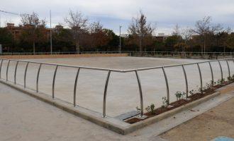 Torrent estrena la nueva pista de patinaje en Parc Central