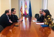 Arcadi España i el president de la FVMP acorden definir el model de mobilitat metropolitana