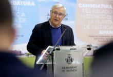 """L'alcalde Ribó reclama """"un fons econòmic amb criteri totalment poblacional i eliminar la llei Montoro"""""""