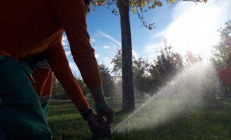 Sagredo anuncia la reutilización de 3'5 millones m³ de agua depurada para riego de parques, jardines y huerta en Paterna