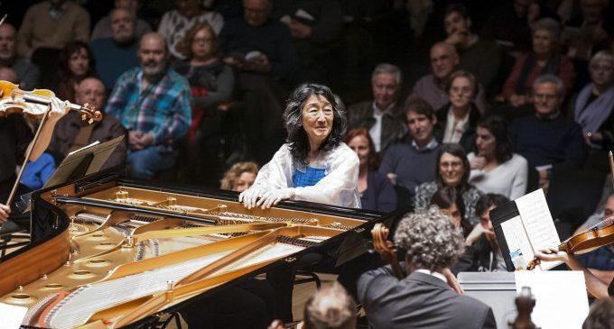 Mitsuko Uchida torna al Palau de la Música