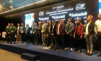 Torrent, salida de la segunda etapa de la Volta Ciclista de la Comunitat Valenciana