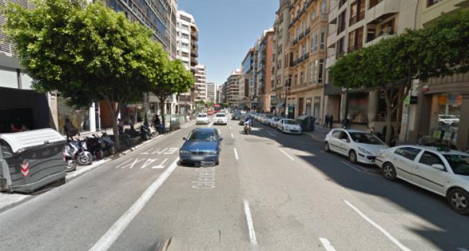 Los autobuses que pasarán por la calle Colón se duplicarán