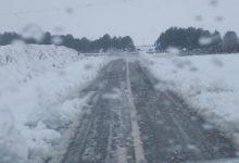 Un total de 34 carreteras siguen cerradas y en 43 es obligatorio el uso de cadenas