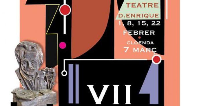 90 obres s'han presentat per participar en la VII edició del certamen Nacional de Teatre Amateur Ciutat de Carcaixent