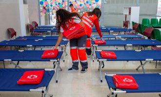 València repartirá 25 cestas al día con productos para una semana a personas mayores en situación de extrema vulnerabilidad
