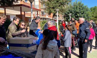 Almussafes commemora un any més el Dia de l'Arbre