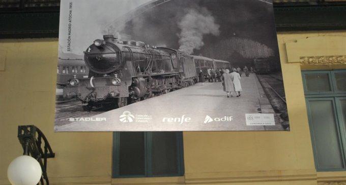 Una exposició en l'Estació del Nord commemora els 160 anys de la connexió Madrid-València